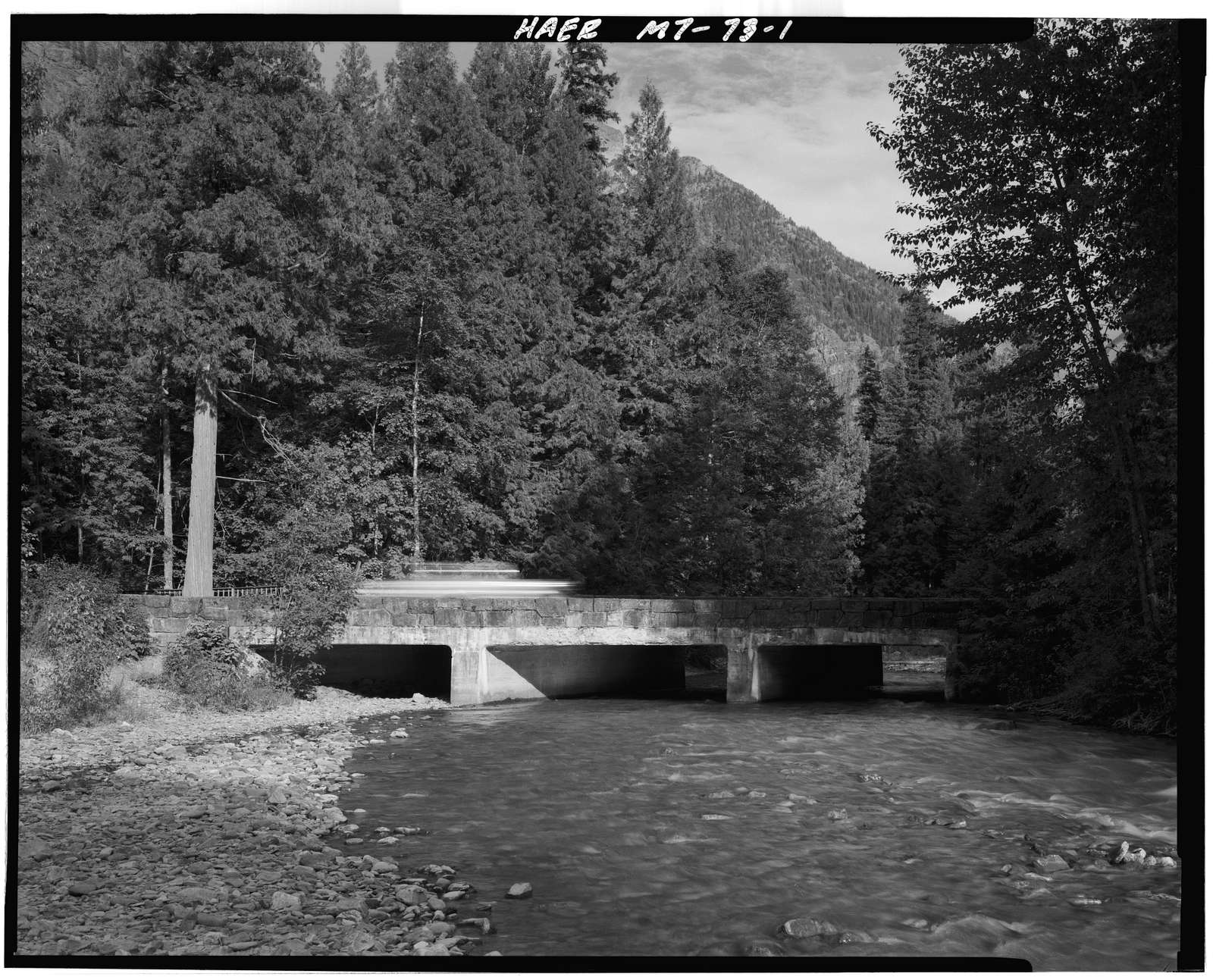 Avalanche Creek Bridge, Spanning Avalanche Creek at Going-to-the-Sun Road, West Glacier, Flathead County, MT