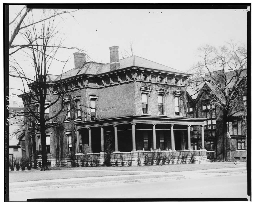 Benjamin Harrison House, 1230 North Delaware Street ...  Benjamin Harrison House