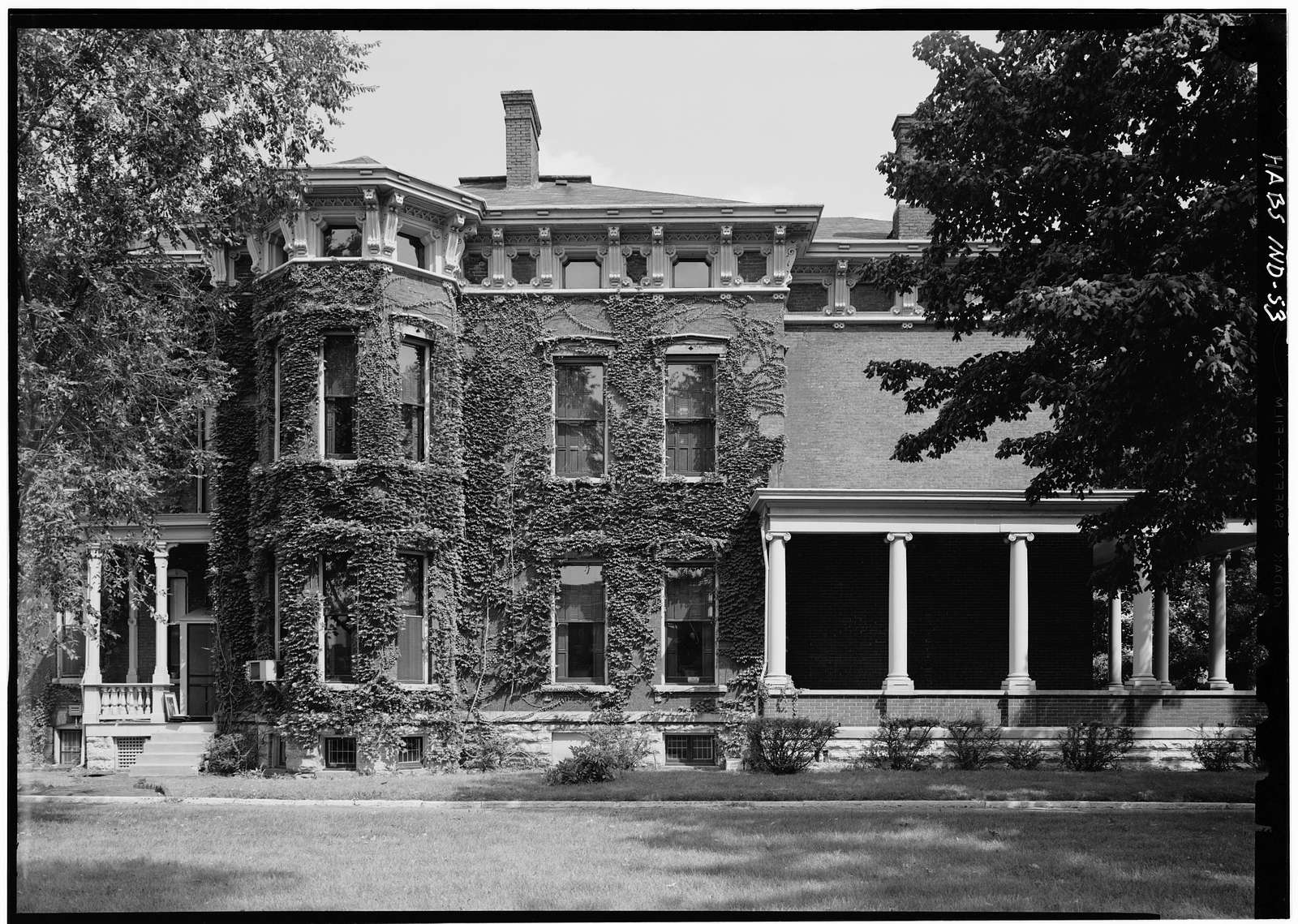 Benjamin Harrison House, 1230 North Delaware Street, Indianapolis, Marion County, IN