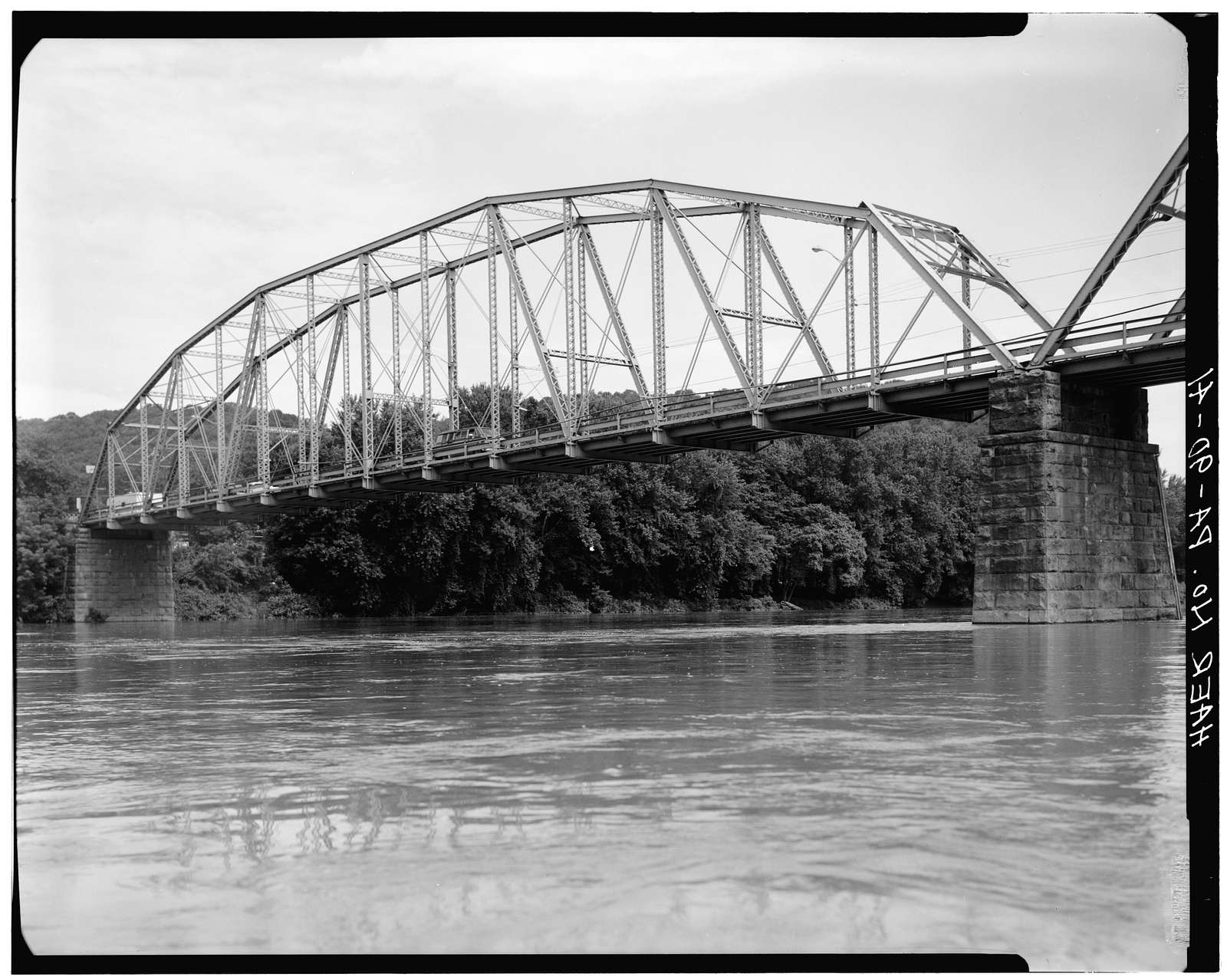 Catawissa Bridge, Spanning north branch of Susquehanna River, 3.5 miles south of Bloomsburg, Catawissa, Columbia County, PA