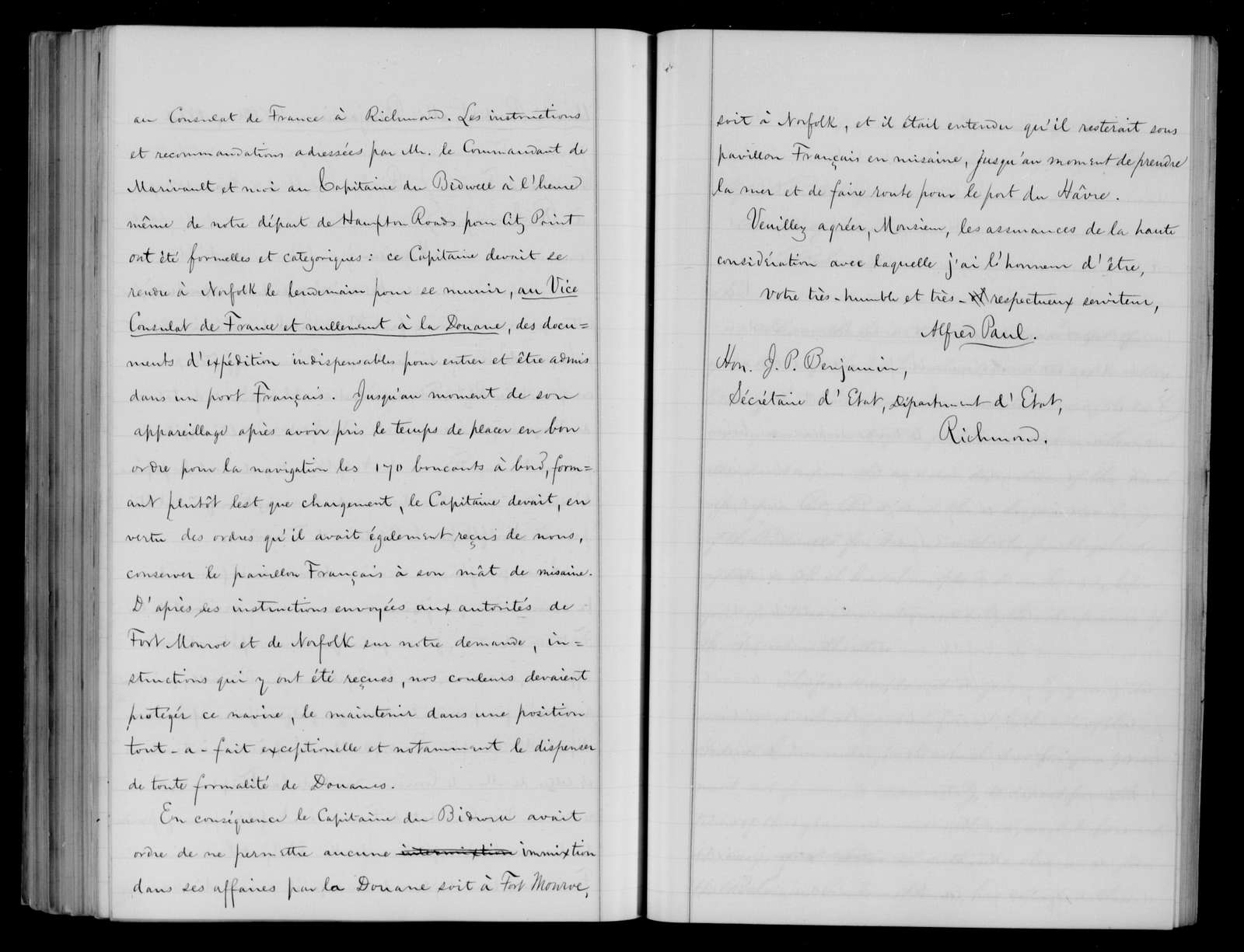 Confederate States of America records: Microfilm Reel 31