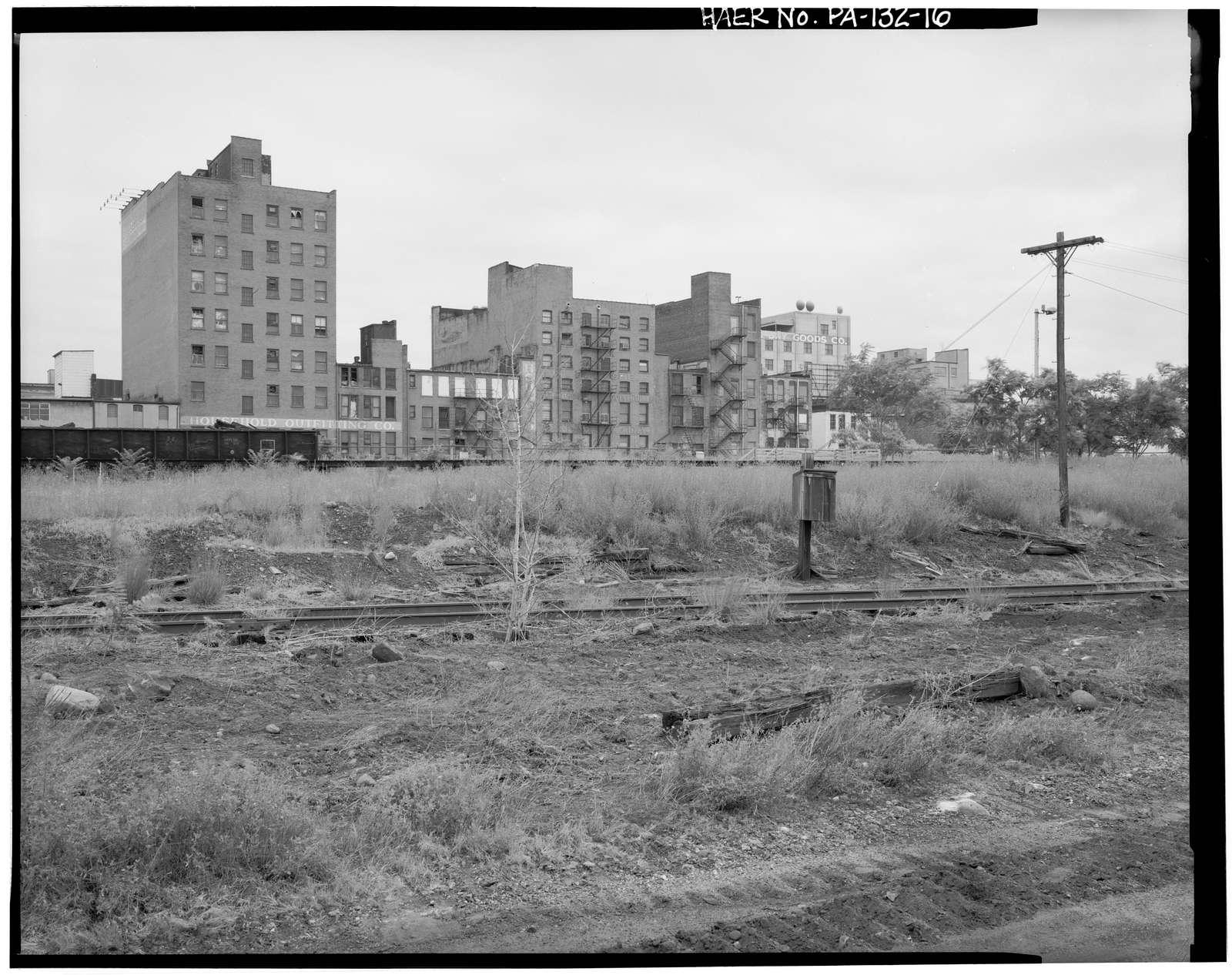 Delaware, Lackawanna & Western Railroad, Scranton Yards, Lackawanna Avenue, Cedar Avenue, River Street & Seventh Avenue, Scranton, Lackawanna County, PA