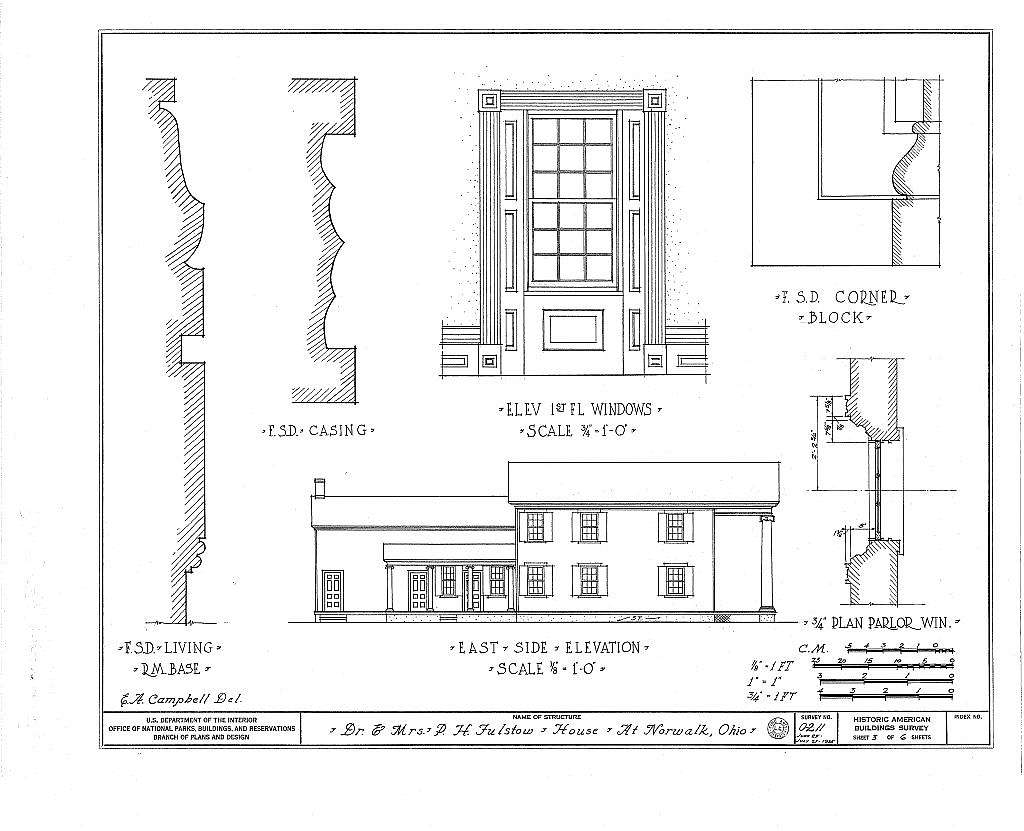 Dr. P. H. Fulstow House, 99 West Main Street, Norwalk, Huron County, OH