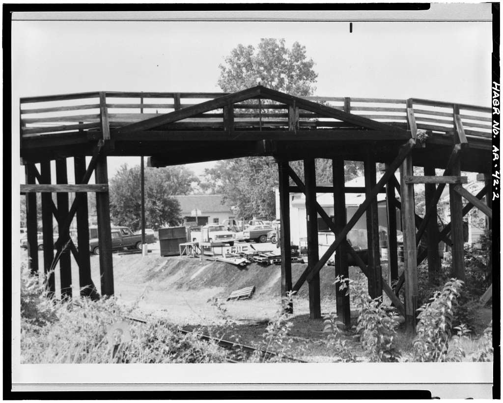 Fourteenth Street Bridge, Spanning Missouri Pacific Railroad at Fourteenth Street, North Little Rock, Pulaski County, AR