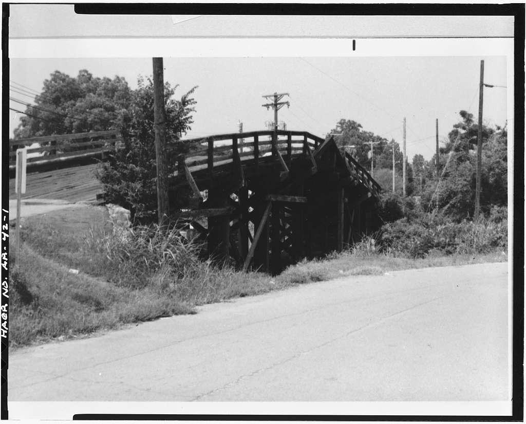 Fourteenth Street Bridge, Spanning Missouri Pacific Railroad at Fourteenth Street, North Little Rock, Pulaski County, AR