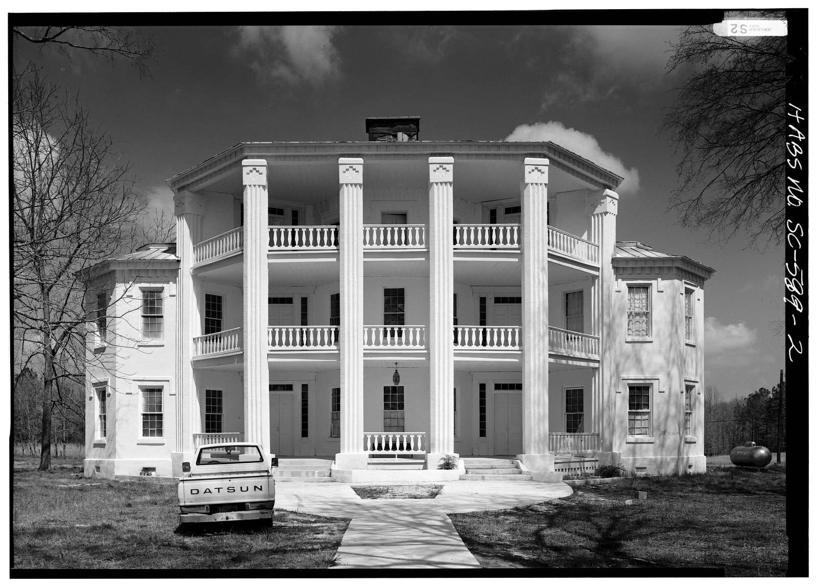 Frazier-Pressley House, Intersection County Roads 33,112 & 47, Abbeville, Abbeville County, SC
