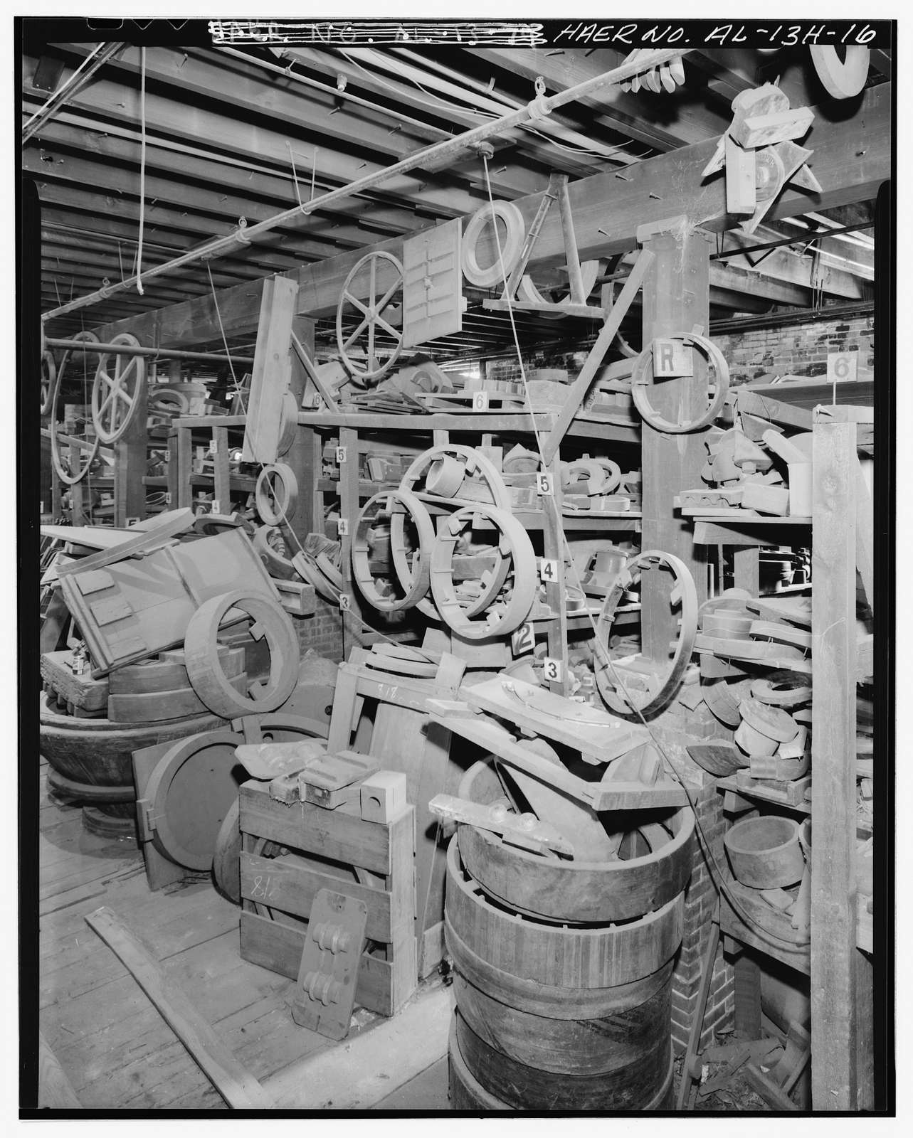 Hardie-Tynes Manufacturing Company, Pattern Shop, 800 Twenty-eighth Street, North, Birmingham, Jefferson County, AL