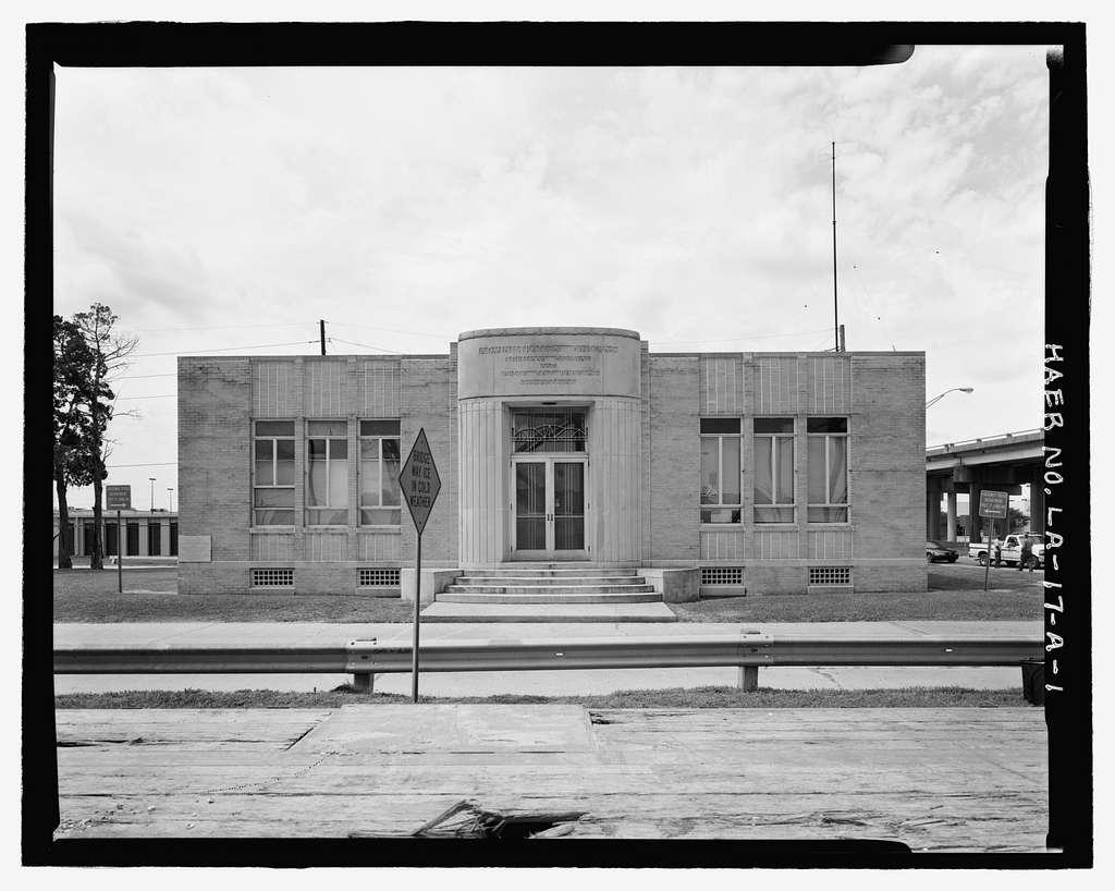 Huey P. Long Bridge, Administration Building, 5100 Jefferson Highway, Jefferson, Jefferson Parish, LA
