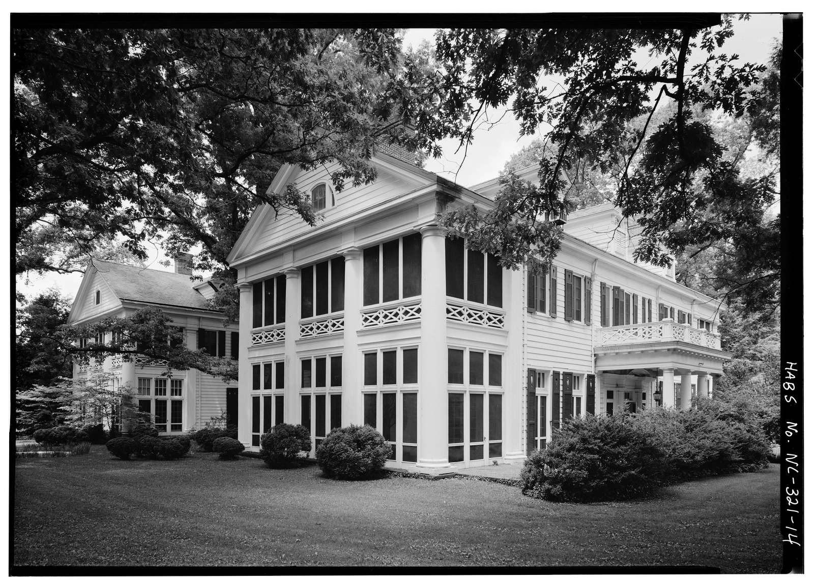 James Buchanan Duke House, 400 Hermitage, Charlotte, Mecklenburg County, NC