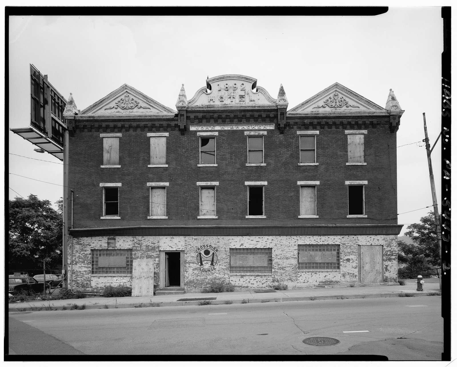 John M. Bracken Hotel, 100-104 Anderson Street, Pittsburgh, Allegheny County, PA