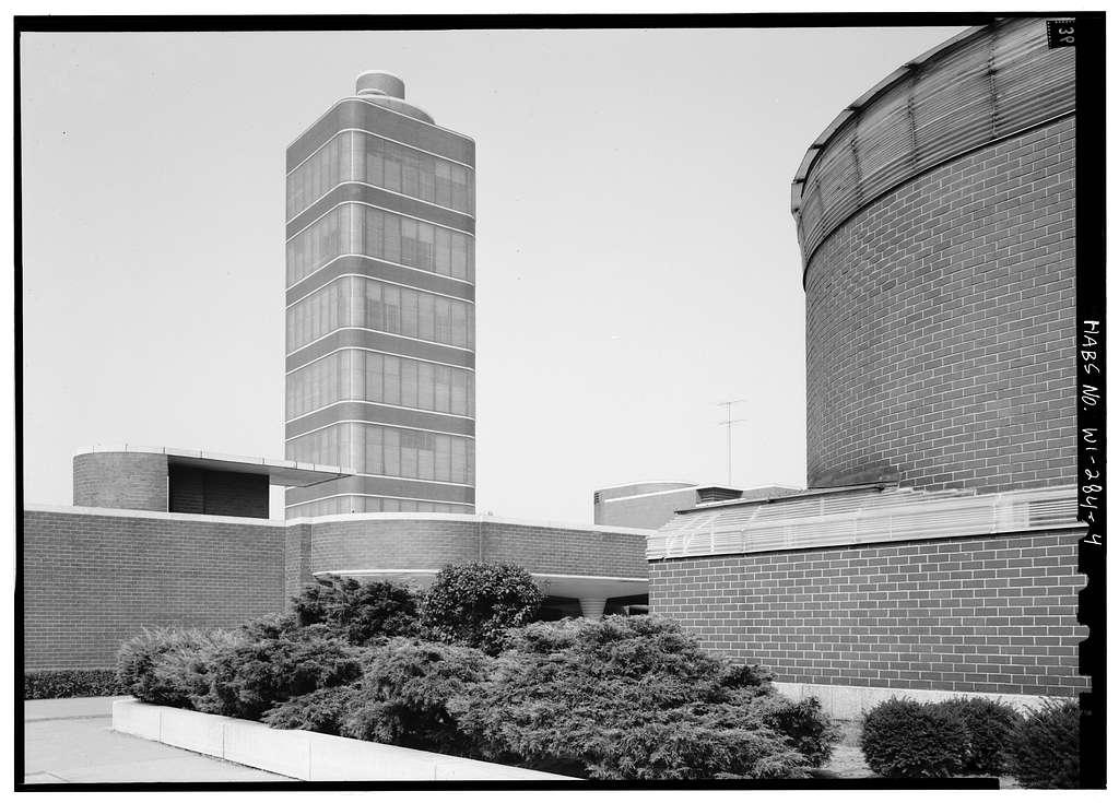 Johnson Wax Corporation Building, 1525 Howe Street, Racine, Racine County, WI
