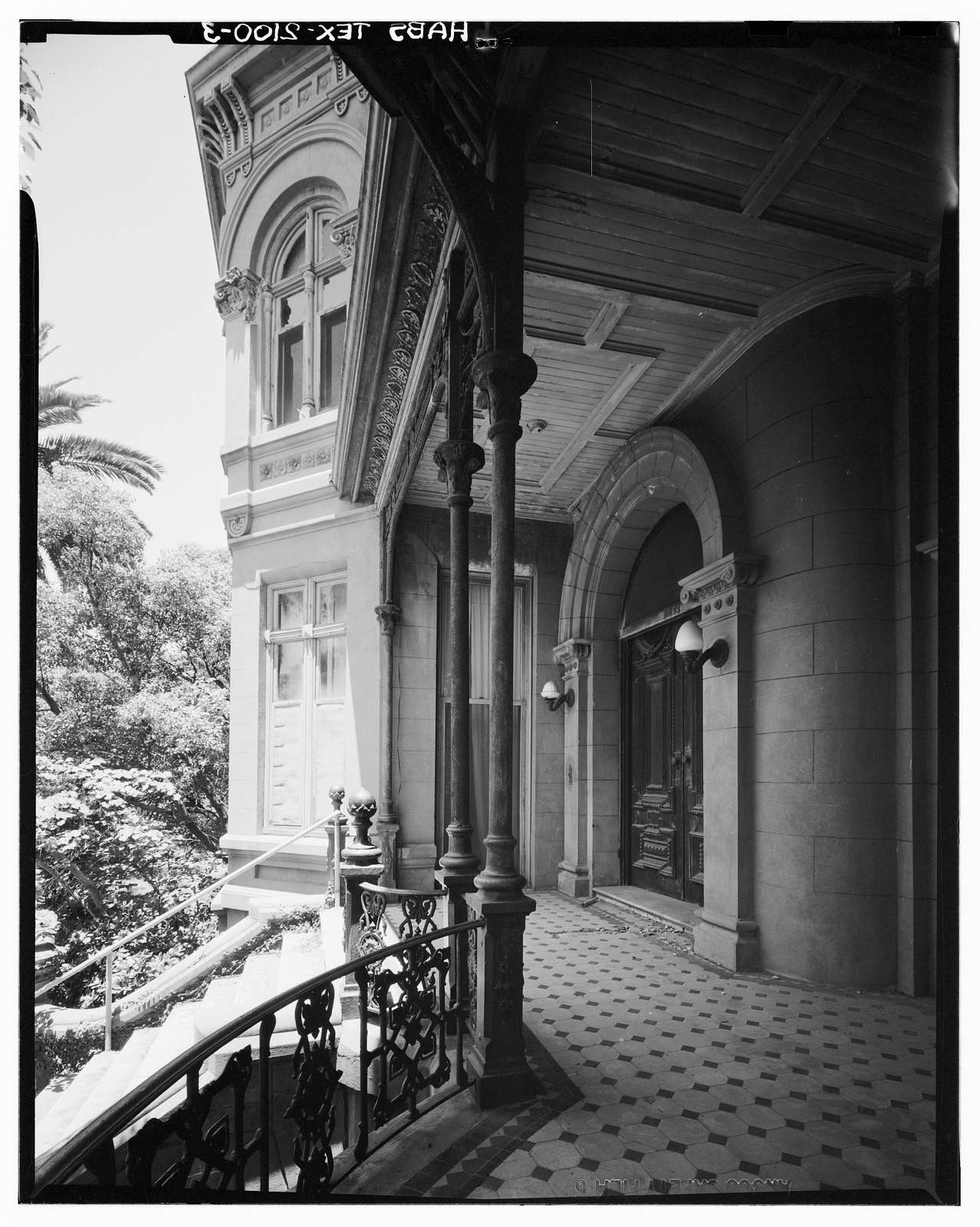Morris Lasker House, 1718-1726 Broadway, Galveston, Galveston County, TX