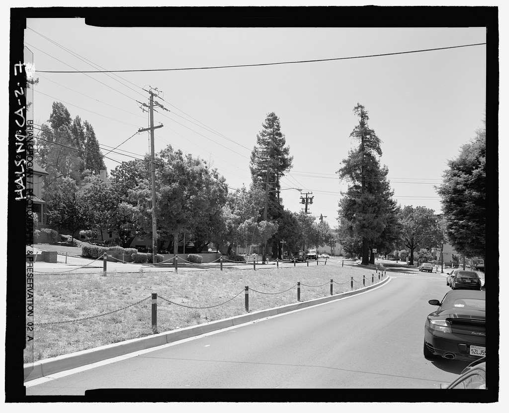 Piedmont Way & the Berkeley Property Tract, East of College Avenue between Dwight Way & U.C. Memorial Stadium, Berkeley, Alameda County, CA