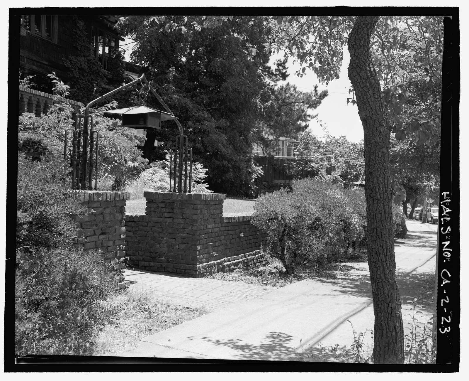 Piedmont Way & the Berkeley Property Tract, East of College Avenue between Dwight Way & U.C. Memorial Stadium, Berkeley, Alameda County, CA