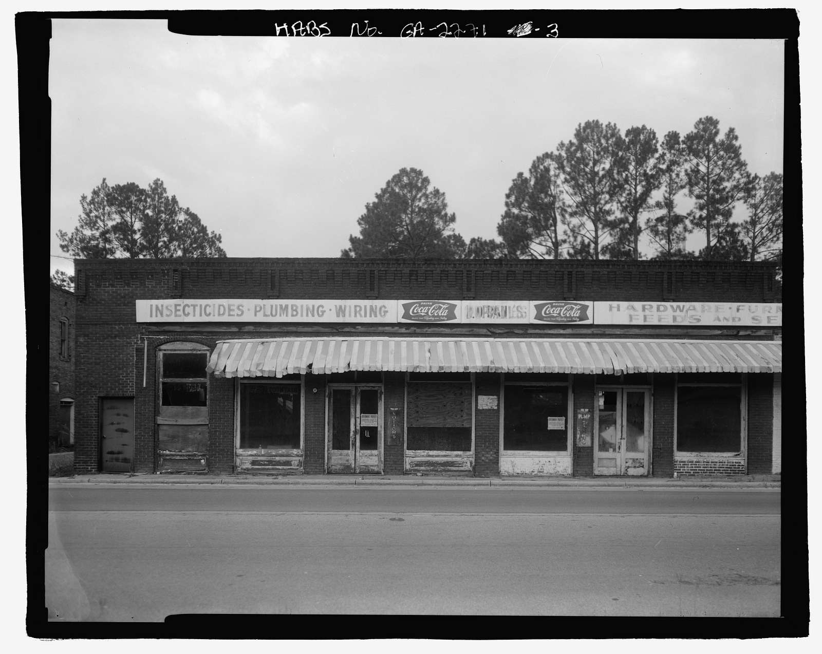 Poppell's Hardware, Furniture, Feed & Seed Store, U.S. Highway 341 at Carter Avenue, Odum, Wayne County, GA