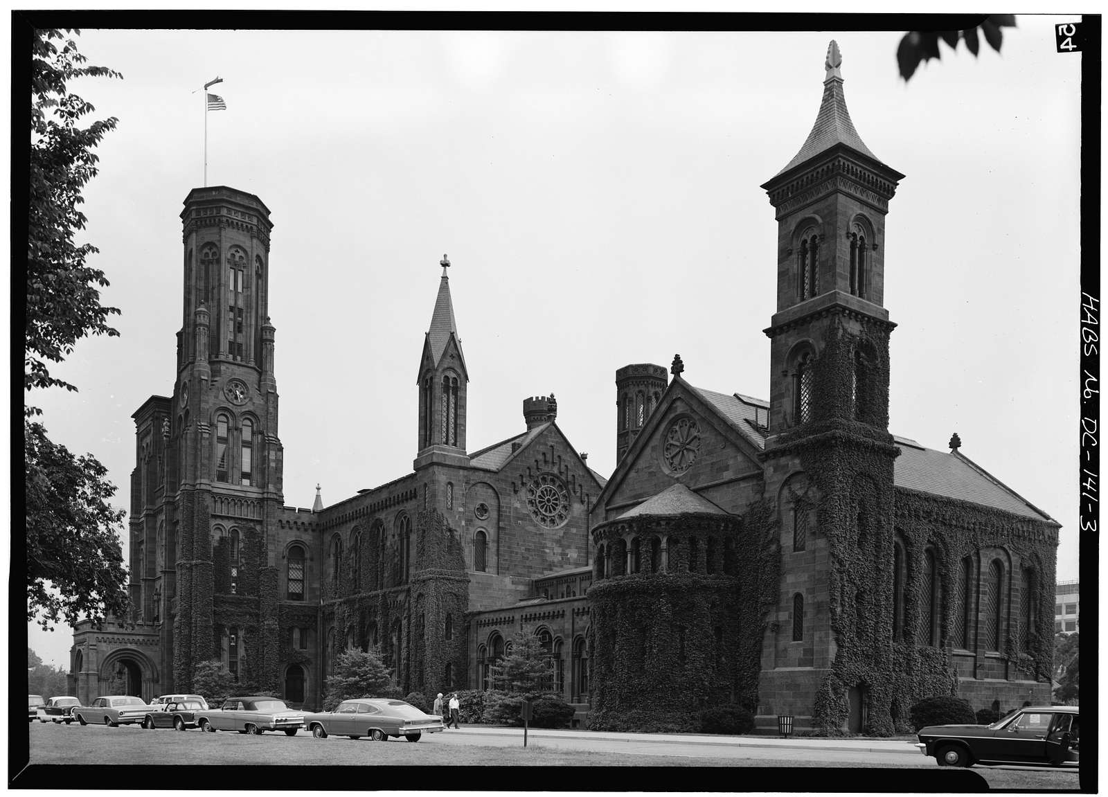 Smithsonian Institution Building, 1000 Jefferson Drive, between Ninth & Twelfth Streets, Southwest, Washington, District of Columbia, DC