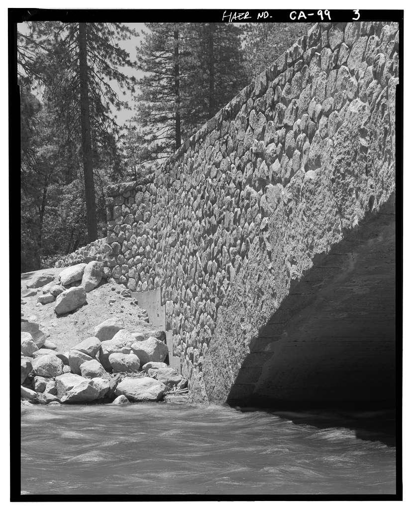 Sugar Pine Bridge, Spanning Merced River on service road, Yosemite Village, Mariposa County, CA