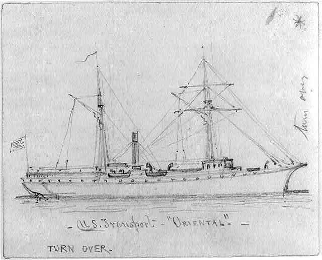 "U.S. Transport ""Oriental"""