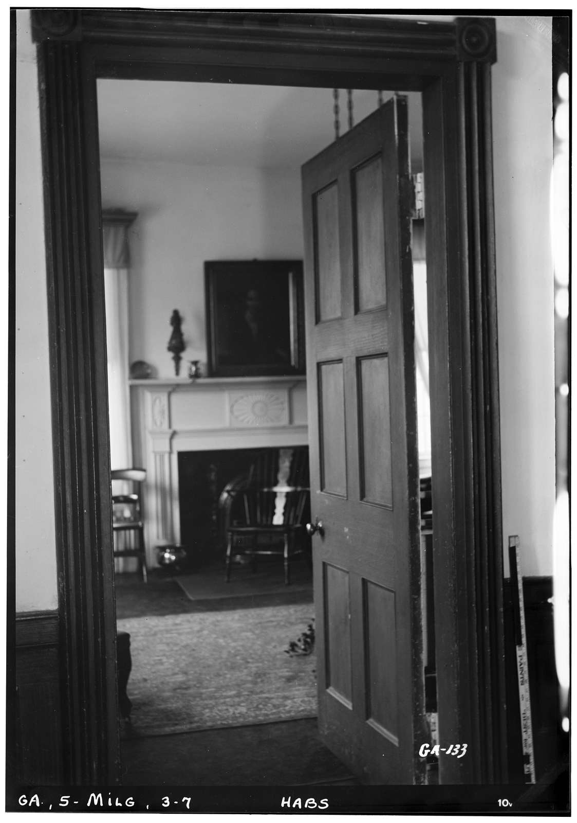 Williams-Orme-Crawford House, 211 Liberty Street, Milledgeville, Baldwin County, GA