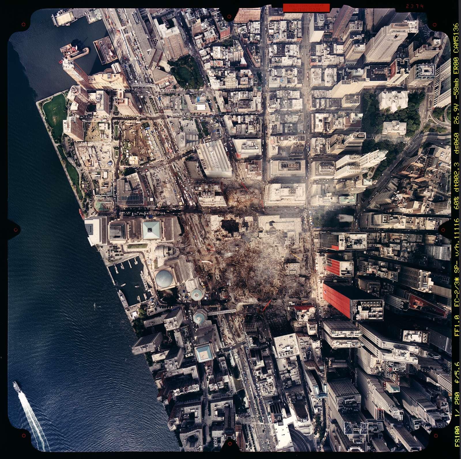 World Trade Center, September 23, 2001.