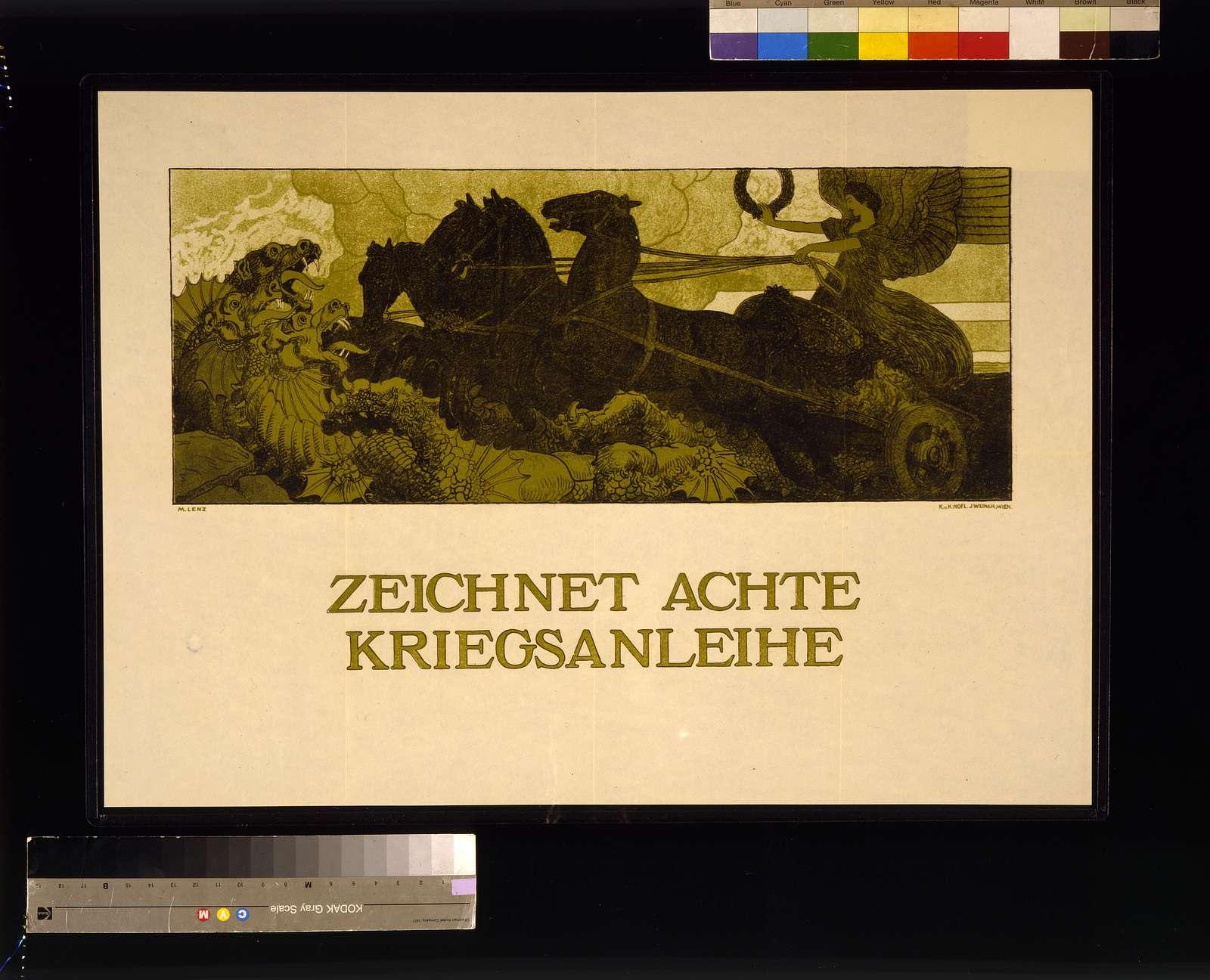 Zeichnet achte Kriegsanleihe / M. Lenz.