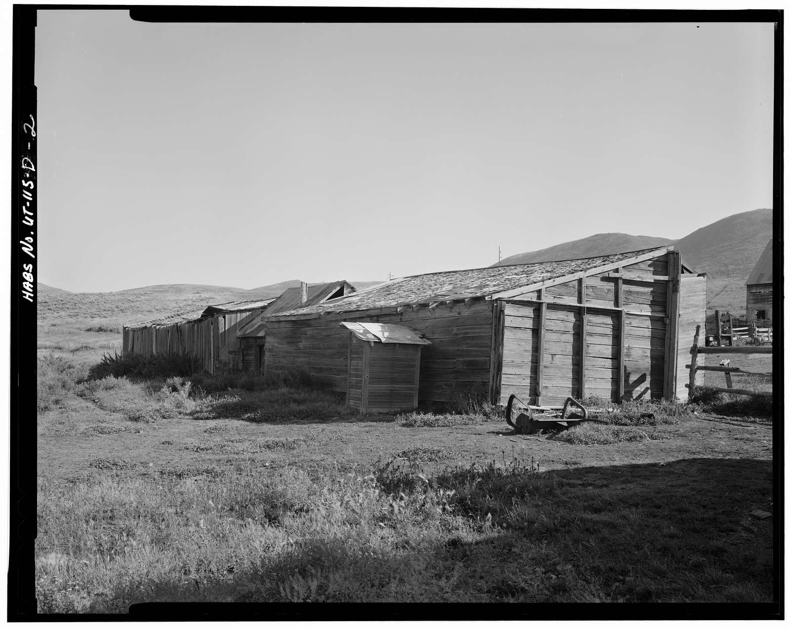Henry Cluff Ranch, Shed, Jordanelle Valley, Keetley Mine Road at U.S. Route 40, Heber City, Wasatch County, UT