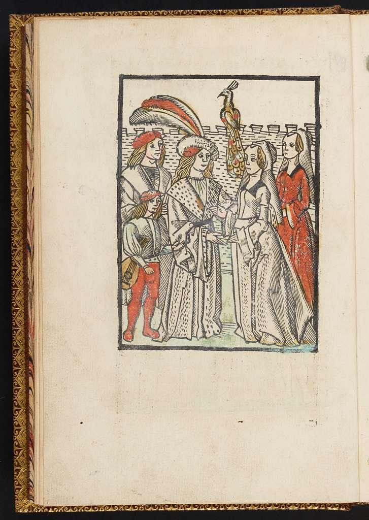 Hystorie vanden vrome[n] ridder Paris ende ua[n] die schone Vienne.