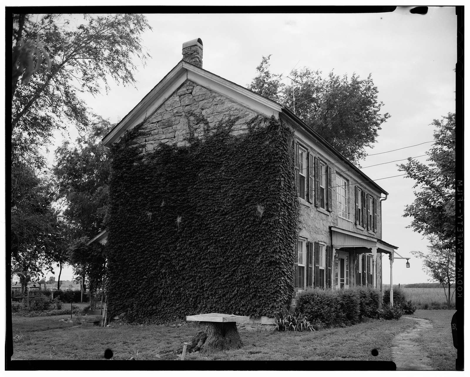 Indian Agency House, U.S. Route 1, Silver Lake, Shawnee County, KS