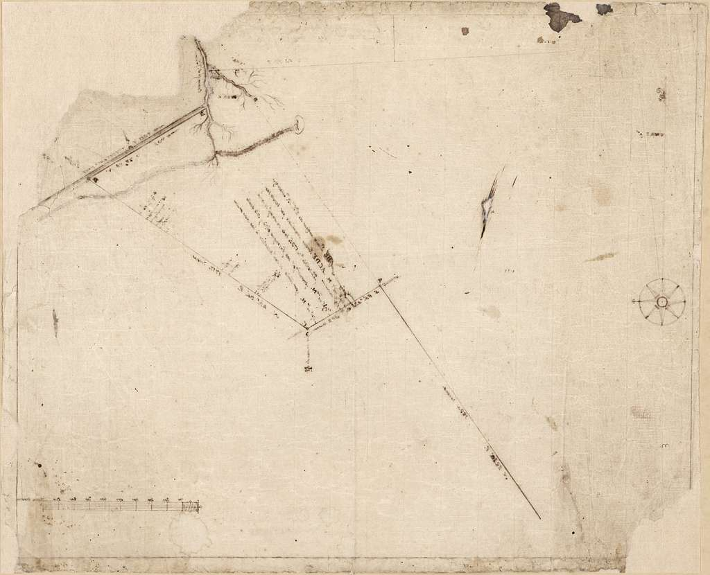 [Map of a portion of Bayou St. John, New Orleans].