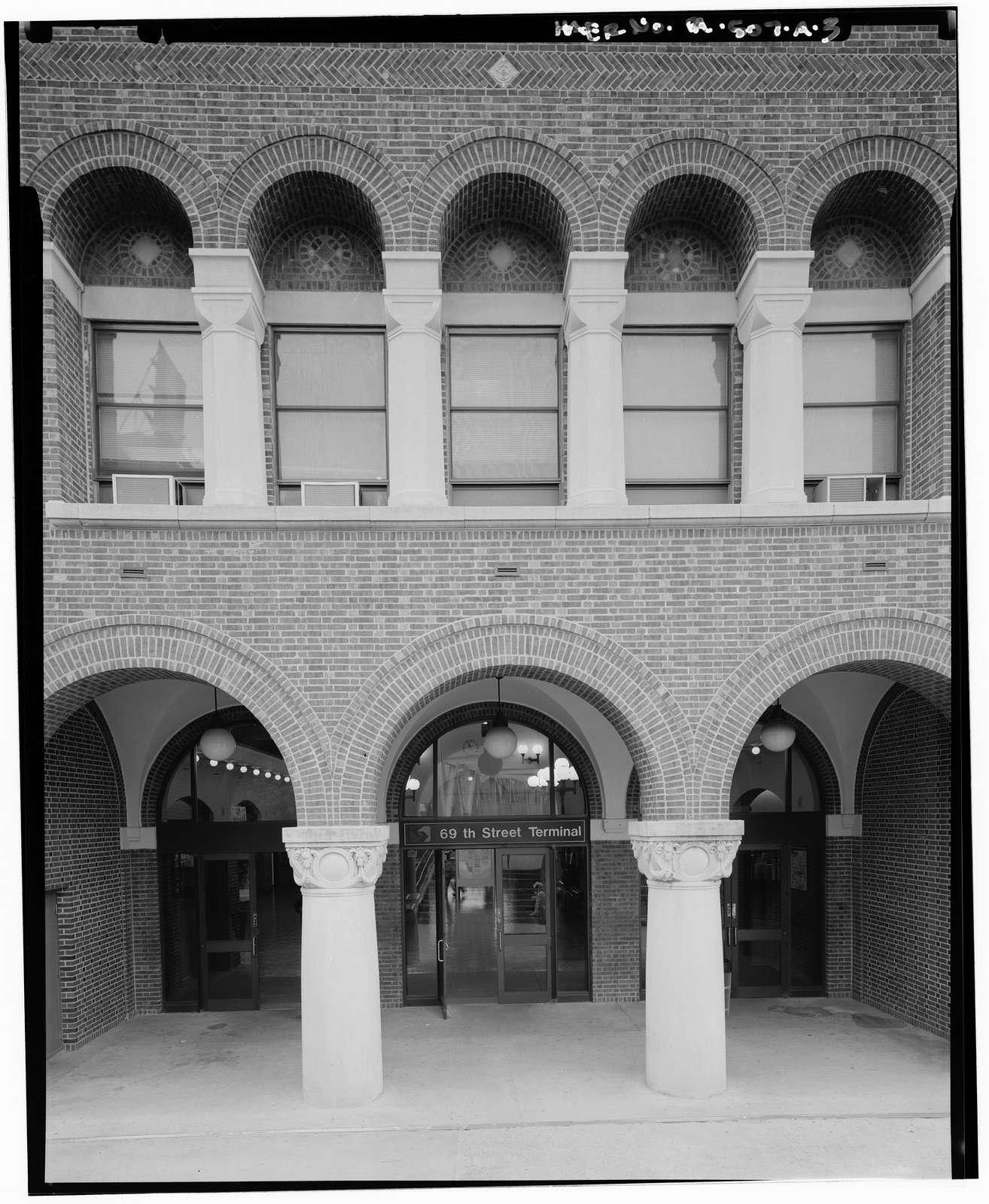 Market Street Elevated Railway, 69th Street Terminal, Market & Sixty-ninth Streets, Philadelphia, Philadelphia County, PA