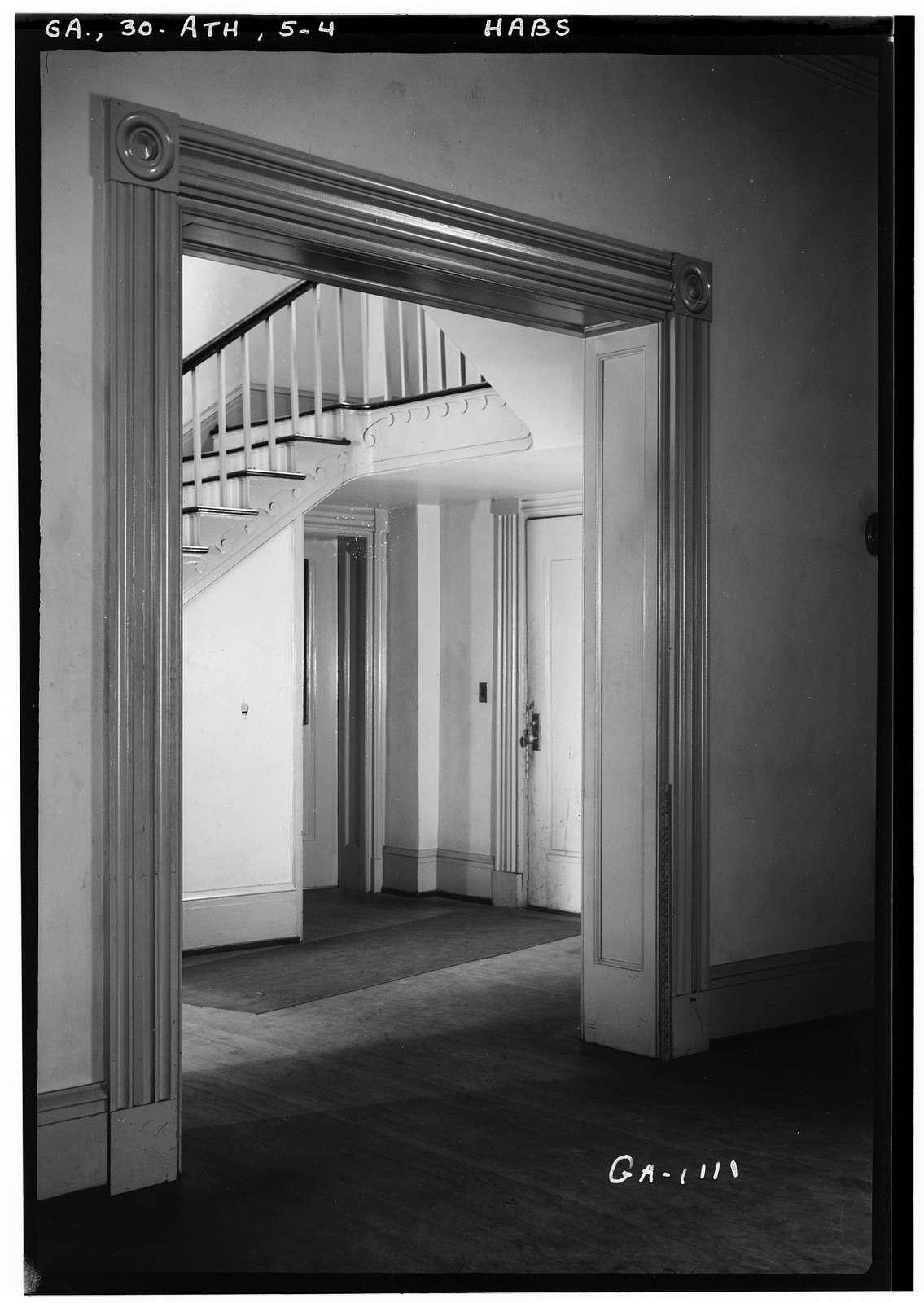 Ross Crane House, Pulaski & Washington Streets, Athens, Clarke County, GA