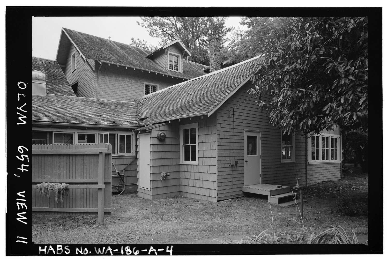 Singer's Lake Crescent Tavern, Lodge Building, Barnes Point, Lake Crescent, Port Angeles, Clallam County, WA