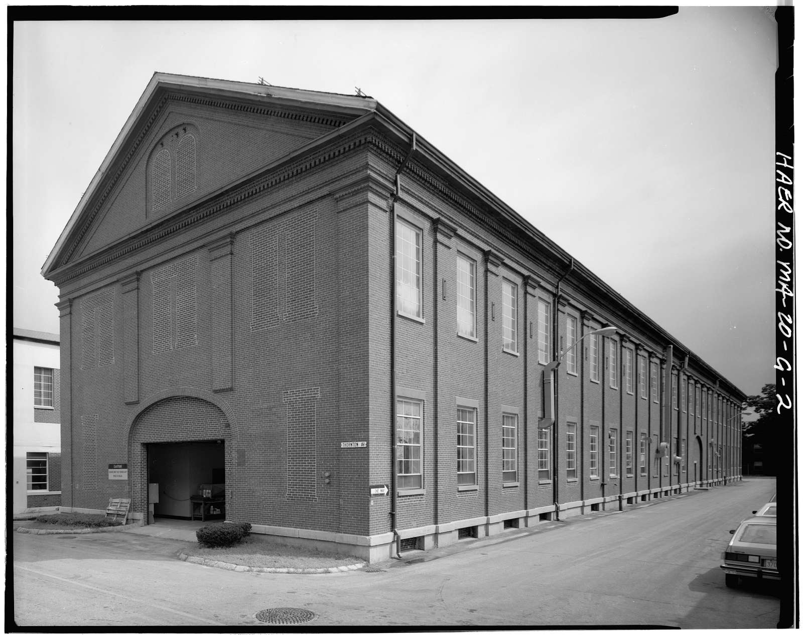 Watertown Arsenal, Building No. 313, Talcott Avenue, Watertown, Middlesex County, MA