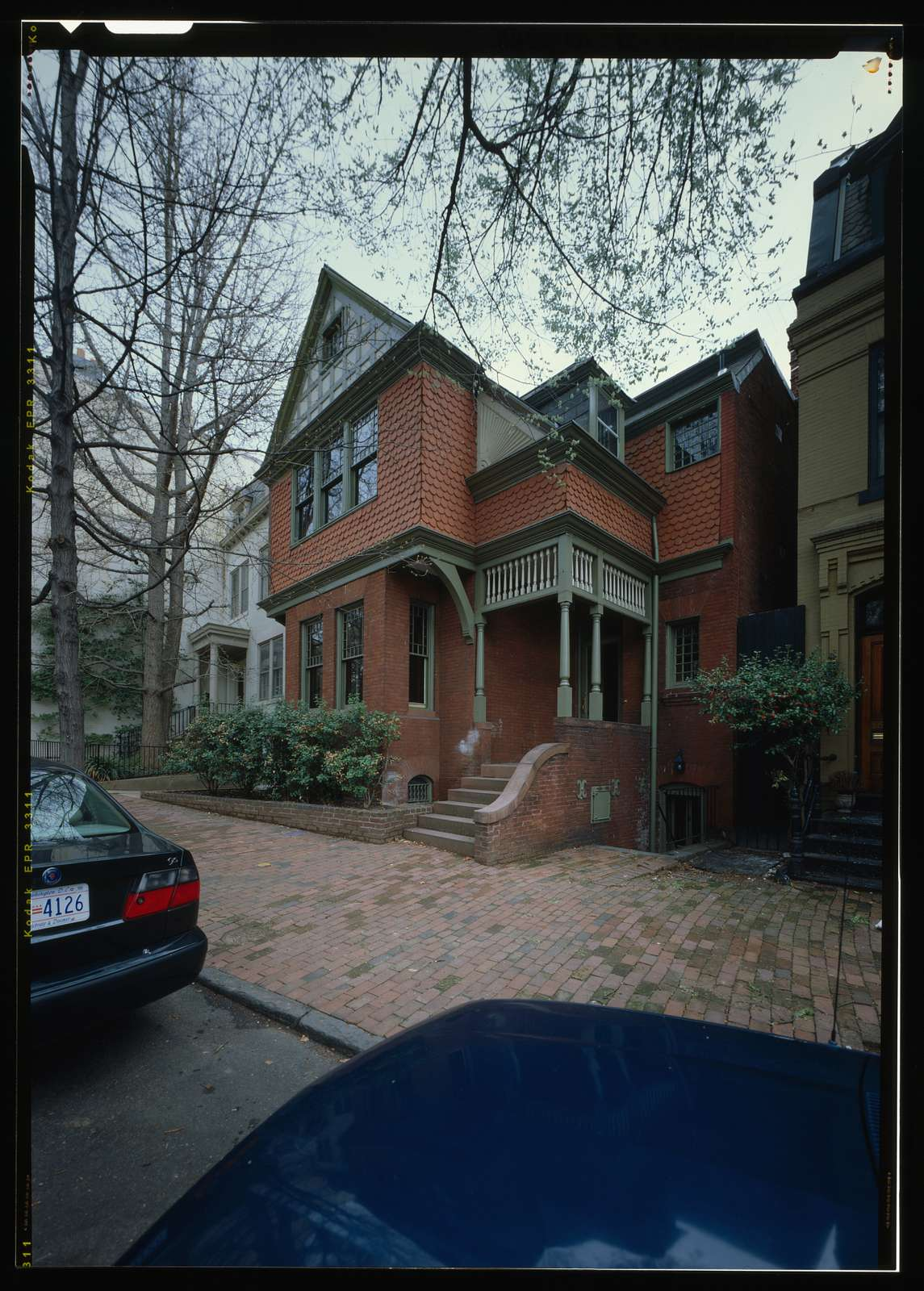 Breiding House, 1523 Thirty-first Street, Northwest, Washington, District of Columbia, DC
