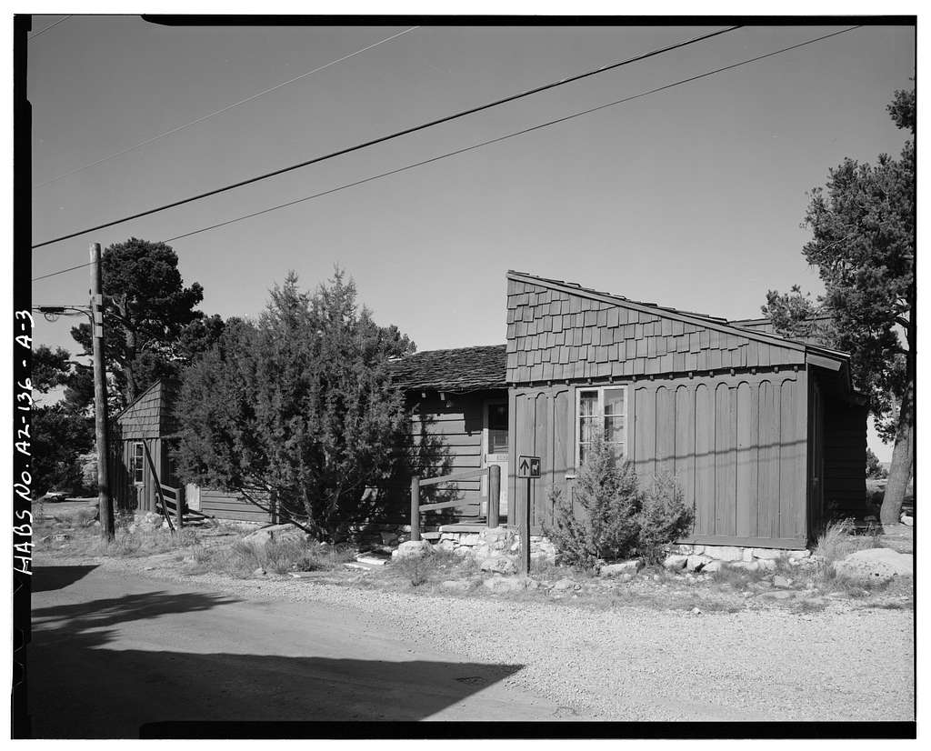 Bright Angel Lodge, Cabin No. 6160-6163, Grand Canyon Village, South Rim, Grand Canyon, Coconino County, AZ