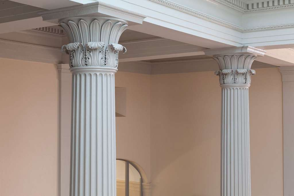 Columns, U.S. Custom House in New Orleans, Louisiana