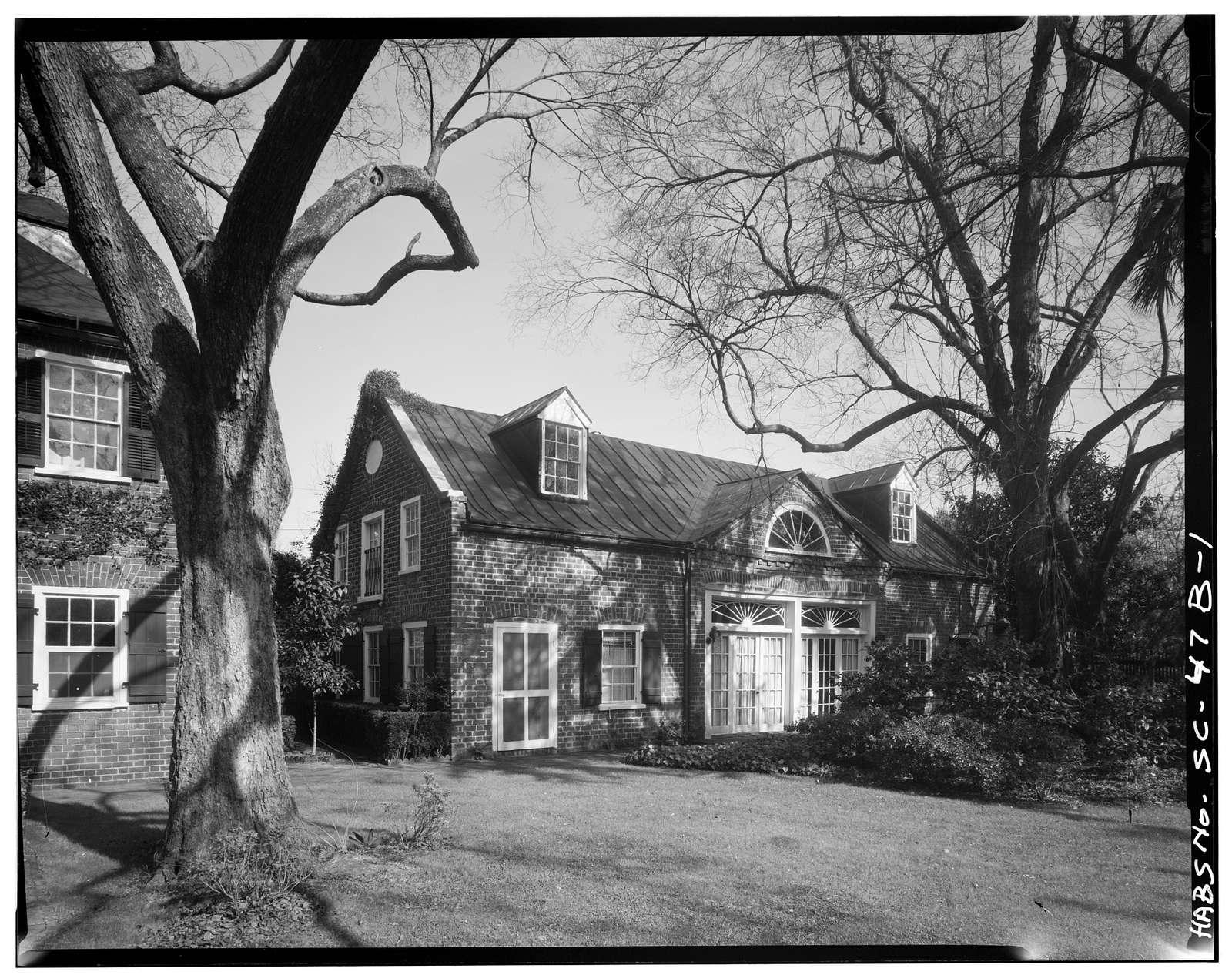 Francis Simmons House, Stable, 14 Legare Street, Charleston, Charleston County, SC