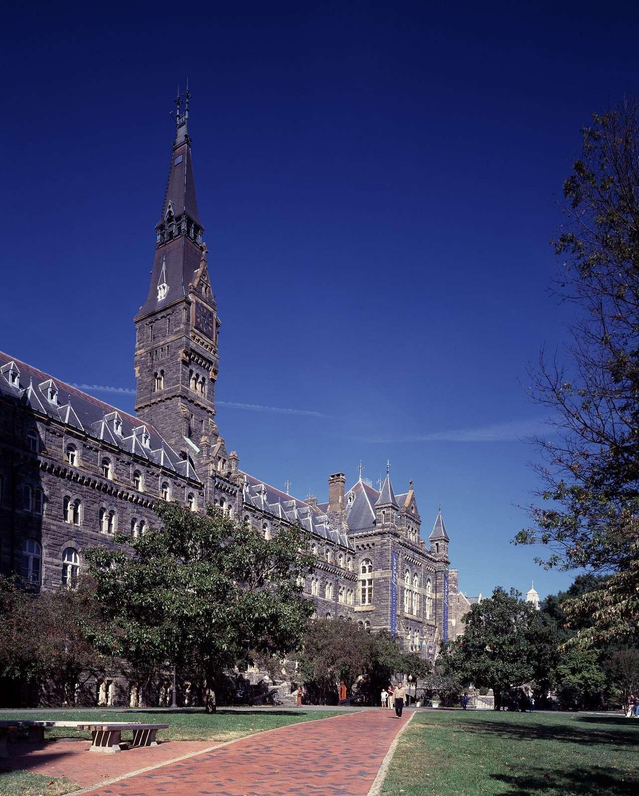Georgetown University's flagship building, Healy Hall, Washington, D.C.