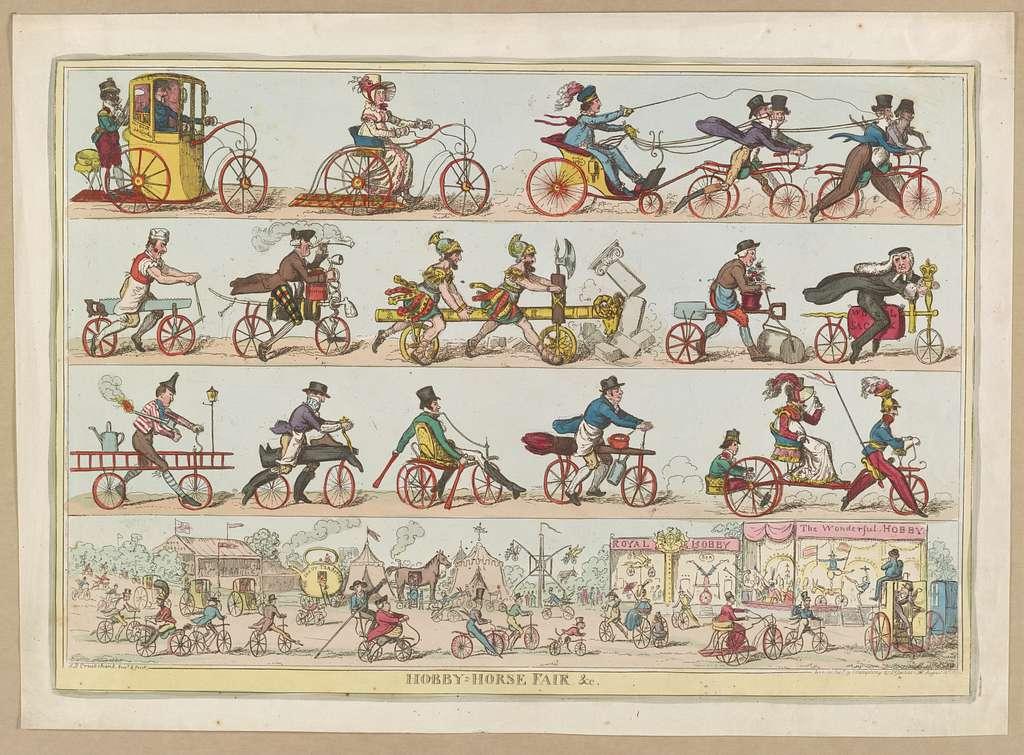 Hobby-horse fair &cc / I. R. Cruikshank, inv. & fecit.