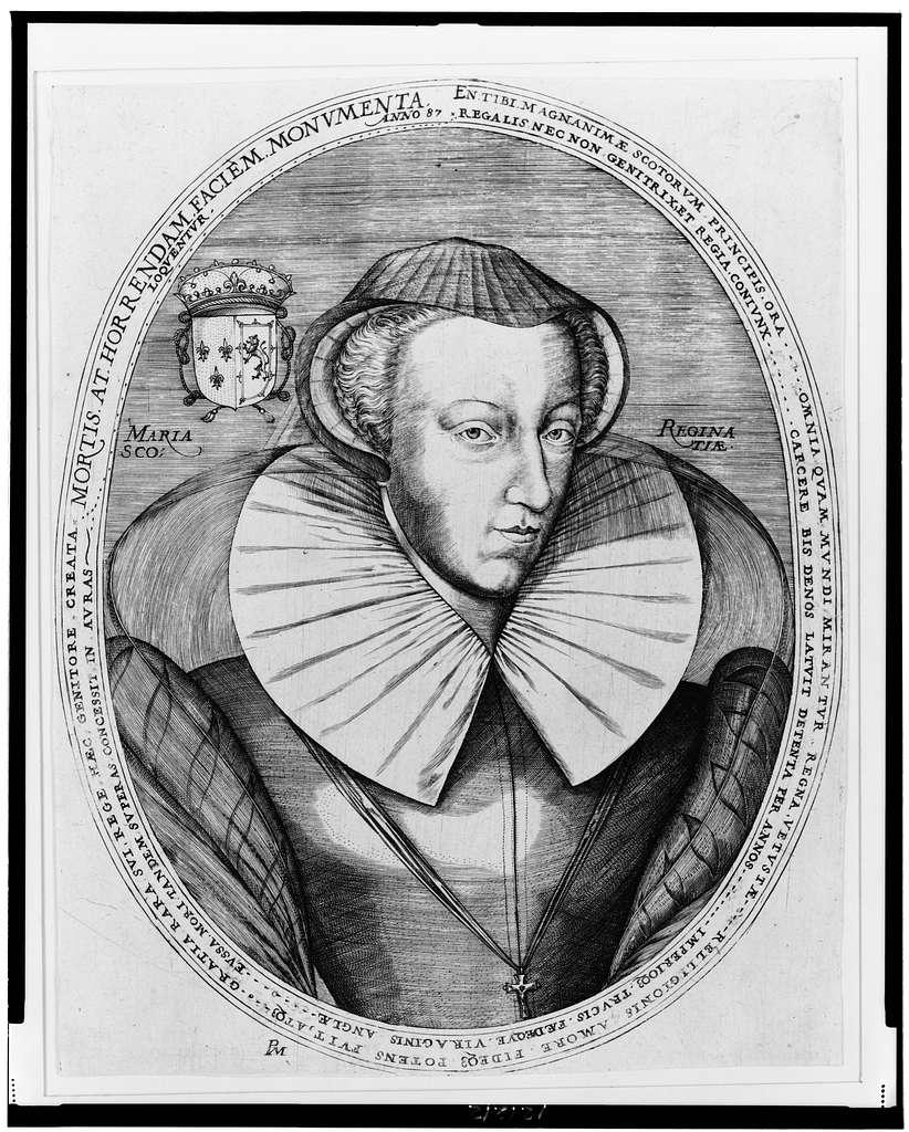 Maria Regina Scotiae--Mortis at Horrendam Faciem [...] / PM.