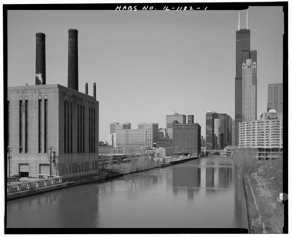 Marshall Field River Warehouse, 310 West Polk Street, Chicago, Cook County, IL