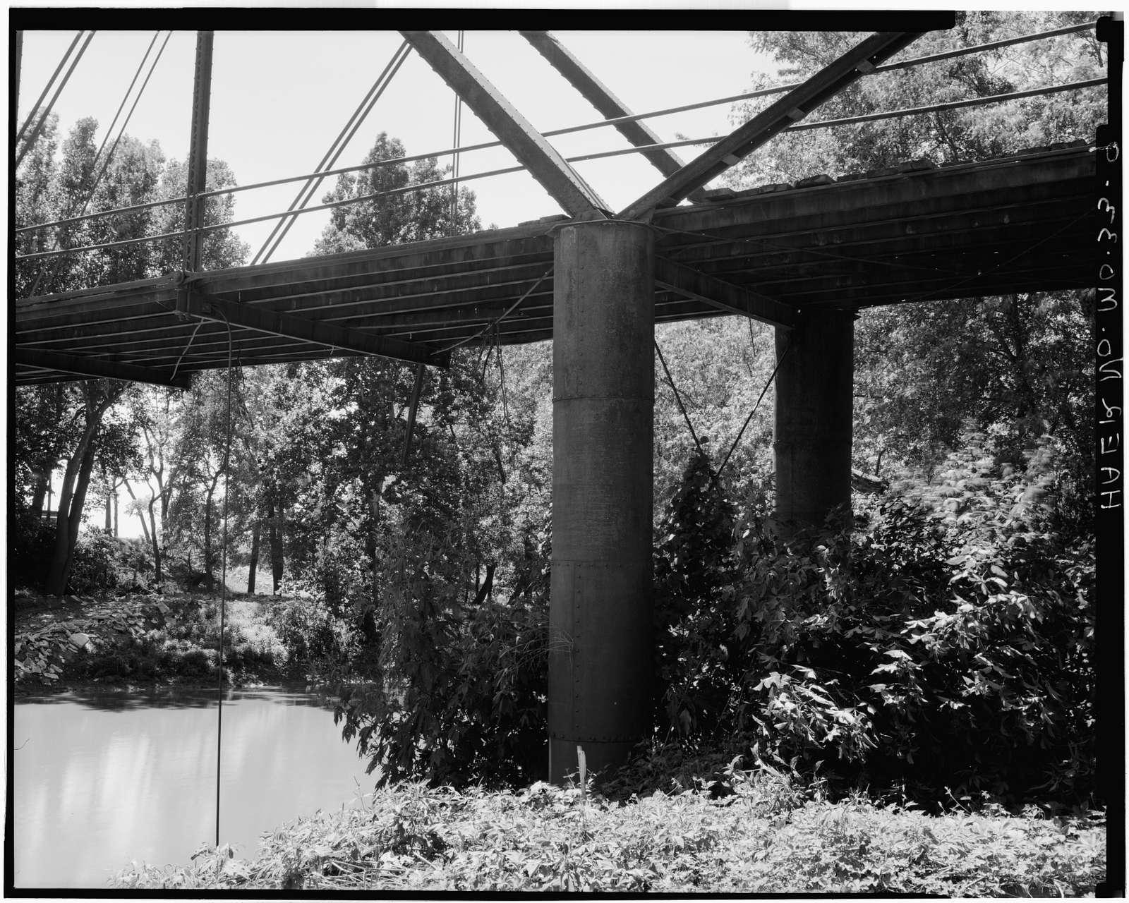 Roberts Bluff Bridge, .5 mile East of Blackwater, Blackwater, Cooper County, MO