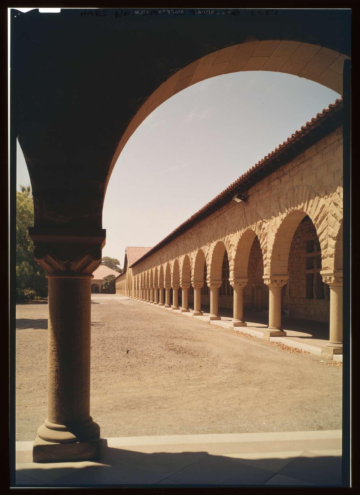 Stanford University Quadrangle, Stanford University Campus, Stanford, Santa Clara County, CA
