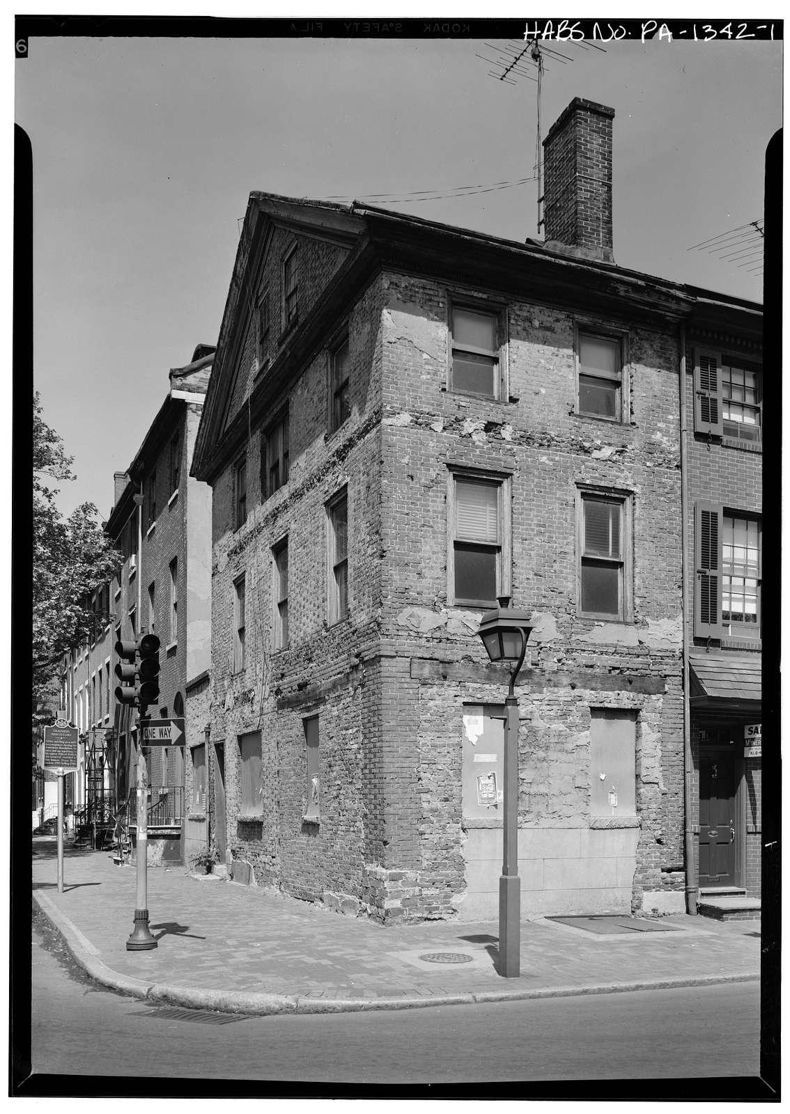 Thaddeus Kosciuszko House, 301 Pine Street, Philadelphia, Philadelphia County, PA
