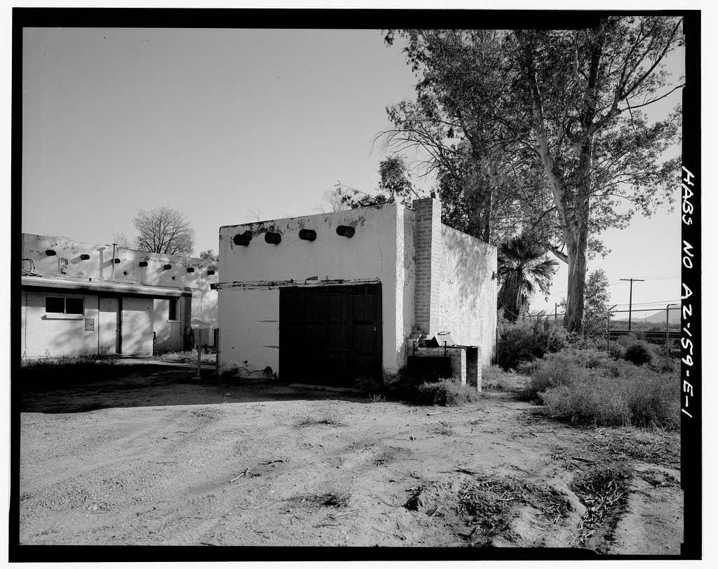 Tucson Plant Materials Center, Superintendent's Garage, 3241 North Romero Road, Tucson, Pima County, AZ