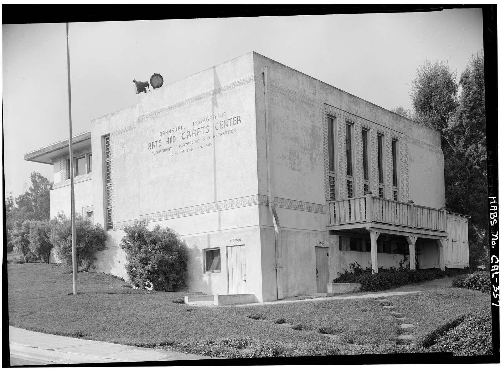 Barnsdall Park, Residence 'A', 4800 Hollywood Boulevard, Los Angeles, Los Angeles County, CA