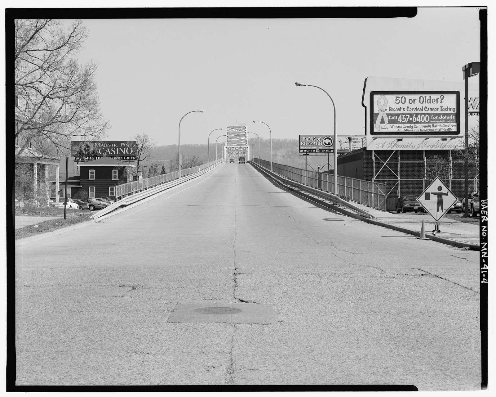 Bridge No. 5930, Spanning Mississippi River at Trunk Highway 43, Winona, Winona County, MN