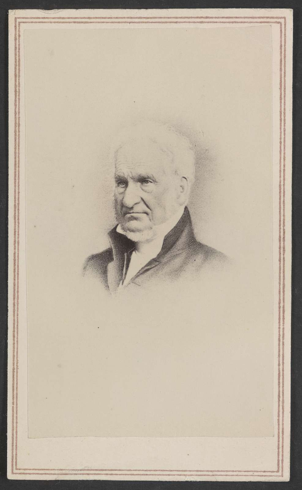 [Eliphalet Nott, president of Union College] / C. A. M. Taber, 99 State Street, Schenectady, N.Y.