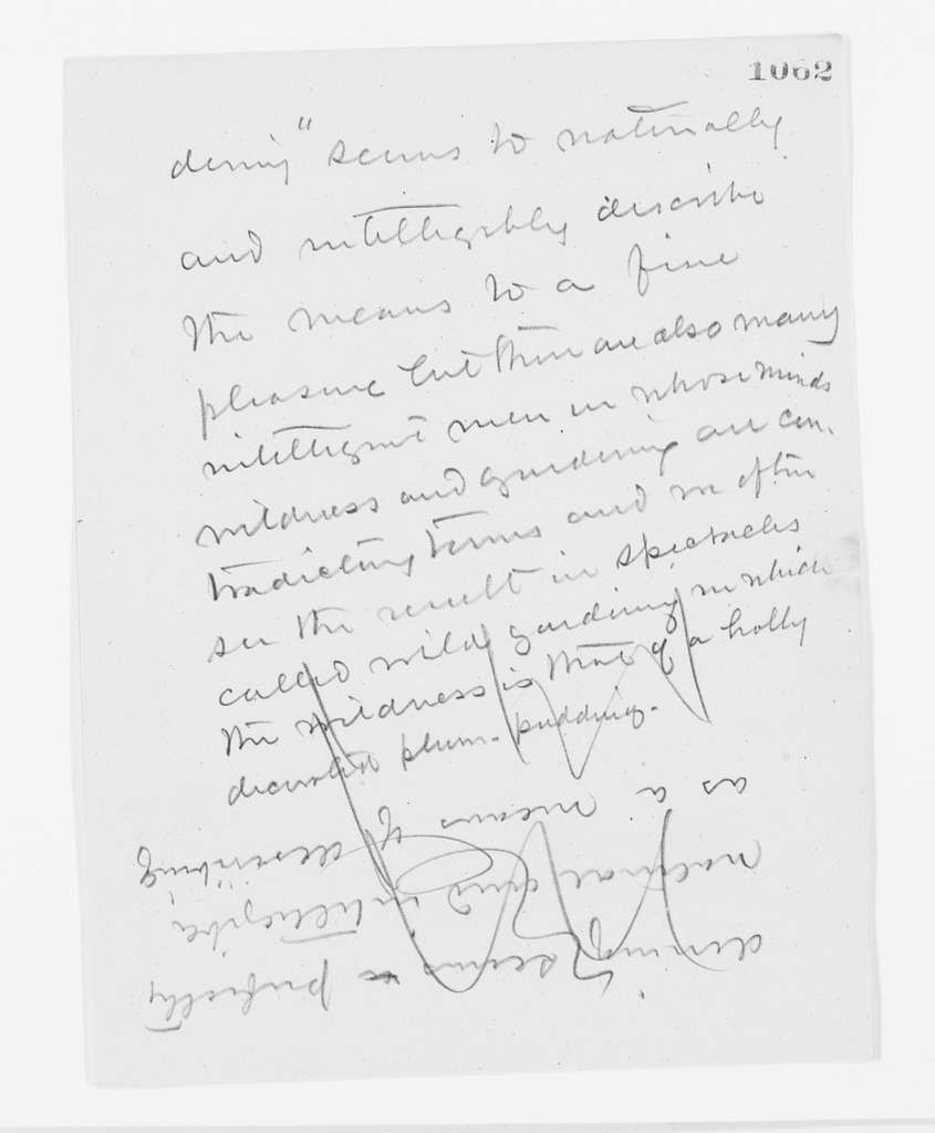 """Frederick Law Olmsted Papers: Speeches and Writings File, 1839-1903; Undated; """"Urban and Pagan Changes,"""" draft and typed copy; Pencil draft (#1000-1196)"""