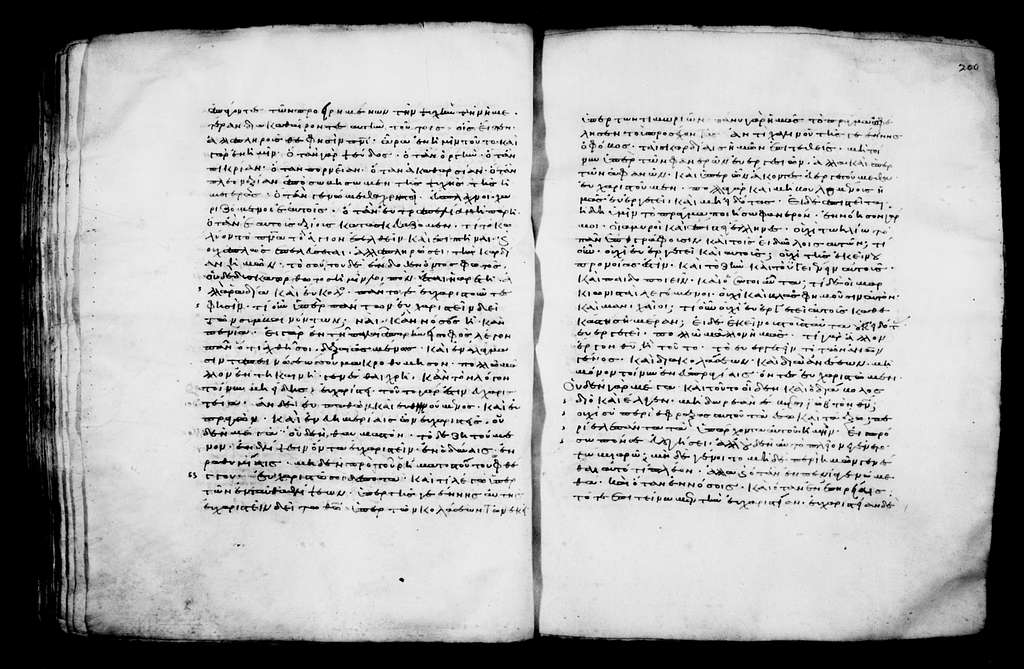 Greek Manuscripts 373. On Galatians, Philippians, Ephesians: 35 Homilies